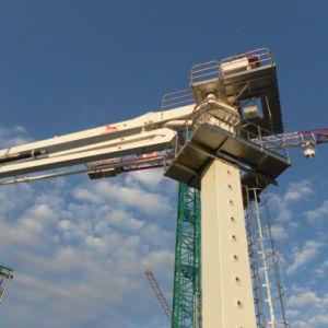 Bouwend Apparatuur die Straal 28m plaatsen Concrete Machine (PB28A)