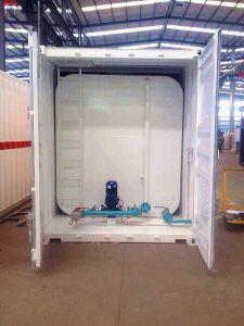 serbatoio di combustibile del contenitore di 20FT per diesel e benzina