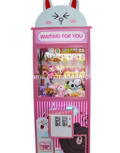 Macchina a gettoni del gioco della branca del giocattolo di divertimento della galleria del più nuovo della bambola 2018 regalo della gru