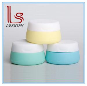 Vaso crema di vetro dell'imballaggio dei contenitori cosmetici di plastica all'ingrosso