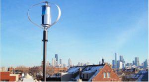 600W縦の軸線の風力の小型縦の風発電機