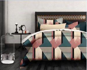 安く100%年のポリエステル二重ブラシをかけられたMicrofiber 4PCSの寝具の一定の寝具