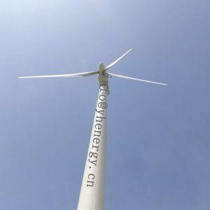 Moinho de vento gerador de energia, a turbina eólica 20kw com 12m de diâmetro do rotor