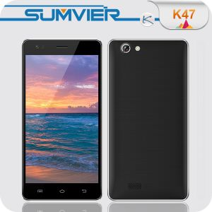 5,5 pulgadas Ogs 720*1280 cuatro núcleos Cam 8.0MP Mtk6582 Smartphone Android 4.4.