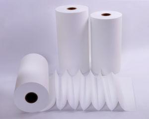 Le papier du filtre à air en fibre de verre