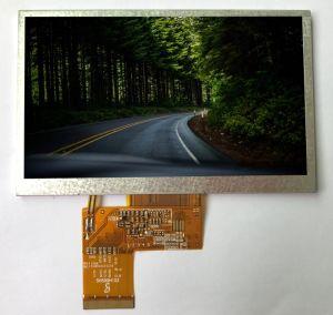 5-duim het Scherm van de Resolutie 480*272 TFT LCD voor Industriële Apparatuur