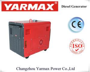 tipo silenzioso del generatore diesel raffreddato aria 5kw