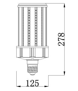 セリウムRoHSが付いている省エネの球根100W LEDのトウモロコシライト