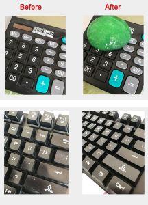 Teclado Universal mágico Limpar Viscoso Gel para Keyboardg