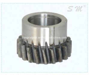 カスタマイズされた耐久の使用中の高精度の鋼鉄拍車の倍ギヤ
