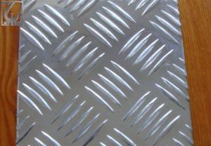 In reliëf gemaakte Rol 5083 van het Aluminium Vijf Staven voor Decoratie