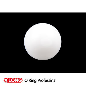 Weißes PTFE Solid Plastic Ball Used in Mechanical Seal