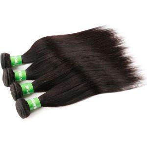 Шелковистая прямой природных волос волосы Extenison ленточных накопителей