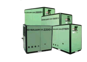 Compresseur à air rotatif à vis Sullair WS série WS1800/WS2200/WS3000/WS3700/WS4500/WS5500/WS7500 8.6bar 7.6bar//10,6 bar/12,6 bar