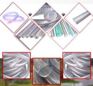 Шланг подачи топлива и выпускной шланг нефти, пластиковый шланг усиленные провода статических разрядов