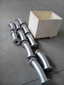높은 Corrosion Resistant 및 Wear Resistant Ceramic Lined Pipe