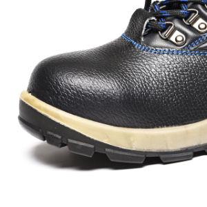 Buffalo Ocultar Ligero aceite de la fábrica de calzado de seguridad y resistencia a deslizamientos