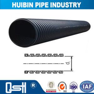 HDPEの酸またはアルカリの液体のためのプラスチック鋼鉄Windngの管