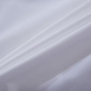 Blanche bon marché lit d'hôtel vêtements en coton biologique