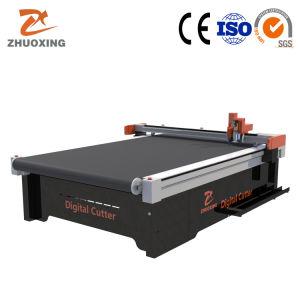 Material de toldo máquina de corte da amostra Padrão plotter de corte CNC Factory Marcação