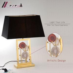 Hotel Design Artístico decorativas candeeiro de mesa de cabeceira de Aço Inoxidável