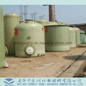 Fibra de vidrio de fibra de vidrio PRFV Tanques de tratamiento de aguas de FRP contenedores de barcos