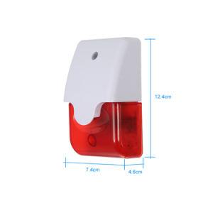 prix d'usine 12V 24VCC Sirène stroboscopique d'alarme incendie 115dB avec LED lumière clignotante