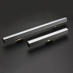 Bateria Recarregável portátil de alta qualidade magnético de luz LED de parede LED de luz do tubo do Gabinete Carregador giratório da Lâmpada de Trabalho