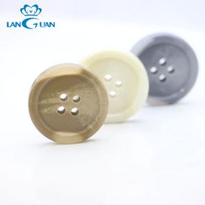 Tissu de fantaisie bouton en plastique ABS personnalisé