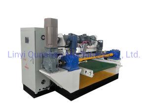 máquina para trabalhar madeira de 4 pés de altura configurado folheado de madeira máquina de rebentamento de torno mecânico da madeira contraplacada ou linha de máquinas