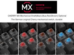 كرز [مإكس] سوداء/زرقاء/أحمر/[بروون] يبرق [بكليت] [رغب] آليّة قمار لوحة مفاتيح ([هغك104])