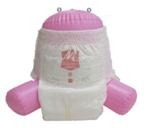 Ultra-Weiches gedrucktes Merkmal ziehen Baby-Windeln hoch