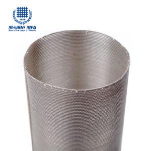 De Cilinder van de Filter van het Netwerk van het roestvrij staal