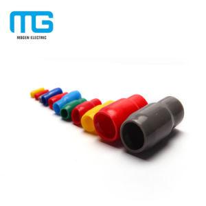 PVC v 유형 Colorfull 단말기 절연제