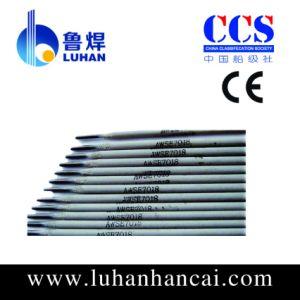 Electrodos de soldadura de acero de carbono (E6013 E7018) con certificado CE