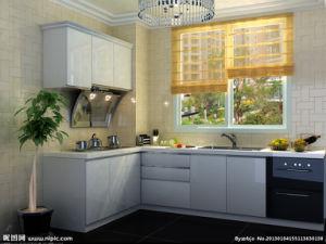Australian 2 PAC de proyectos de alto brillo gabinetes de cocina