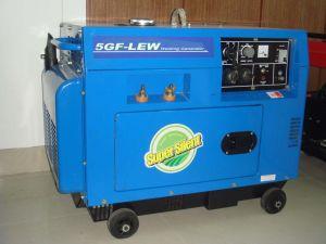 Gerador Diesel - Resfriado a ar tipo (5/6 GF-LDE)