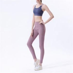 Gimnasio Fitness Sport viste de mujer pantalones pantalones de yoga