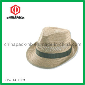 Ce Straw Promotion Fedora Hat voor Men (cpa-14-1063)