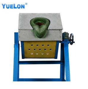 Smeltende Apparatuur van de Inductie van de Frequentie van de Smelting van het Koper van het Ijzer van het staal de Middelgrote