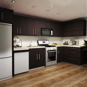 Style oppein am rique forme de l 39 armoire de cuisine en - Cuisine en forme de l ...