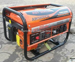 Precio barato! Recuperador de aluminio de 2kw Inicio motor de 6.5HP generador de gasolina para la venta