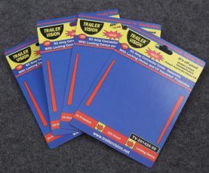 Cartão de cabeçalho de proteção UV