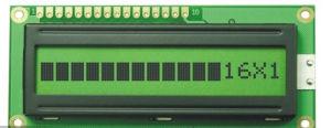 20 * 02文字LCDモジュールのStnのタイプ黄色緑モノクロLCDの表示