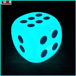 LED leuchtete Würfel-Form-glühende Form-Lagerungs-Lampen