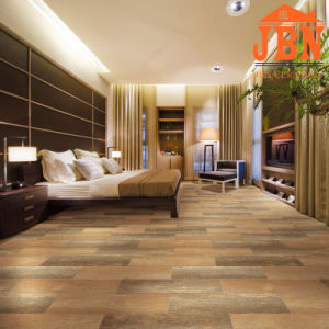Hete Verkopende Ceramische Houten Verglaasde Tegel voor Vloer (J21015D)