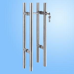 Punho de vidro da tração da porta (FS-1804)