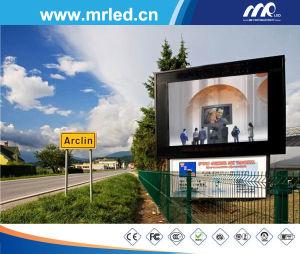 L'Autoroute ou Route de la carte d'affichage à LED de la publicité de plein air