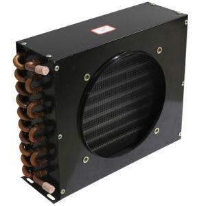 Quarto frio Air-Cooled condensador do tubo de cobre com aletas de alumínio