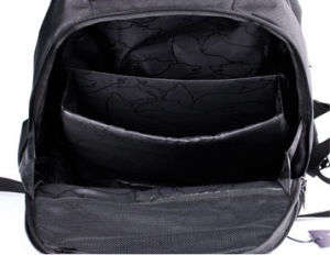 Portátil portátil moderno negro iPad bolsa Mochila escolar